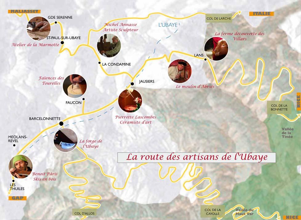 la route des artisans